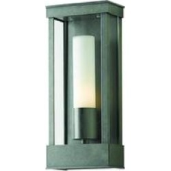 Hubbardton Forge Portico 14 Inch Tall 1 Light Outdoor Wall Light - 304320-1005 found on Bargain Bro from Capitol Lighting for USD $752.40