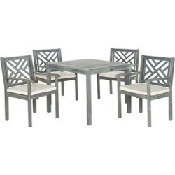 Safavieh Patio Dining Sets ASH - Ash Gray Ashley Outdoor Dining Set found on Bargain Bro from zulily.com for USD $430.90