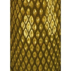 Trinx Geometric Brown/Area RugPolyester/Wool in Yellow, Size 144.0 H x 96.0 W x 0.35 D in | Wayfair F7B91E56D7564FE08BCE18D55F2A8FA2 found on Bargain Bro Philippines from Wayfair for $1219.99