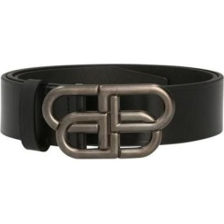 Bb Wide Belt - Black - Balenciaga Belts found on Bargain Bro from lyst.com for USD $300.20