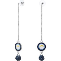 Los Angeles Chargers Women's Chain Pierce Shambala Earrings found on Bargain Bro from Fanatics for USD $9.11