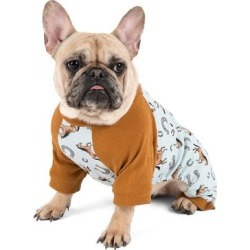 Leveret Pet Pajamas - Light Brown & Blue Horse Dog Pajamas found on Bargain Bro from zulily.com for USD $6.83