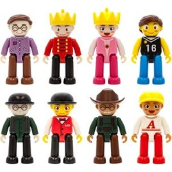 PicassoTiles Dolls - 3-D Magnetic Character Figure Set found on Bargain Bro Philippines from zulily.com for $16.97