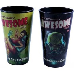 Fallout Awsome Tales 16oz Pint Glass Set - Black found on Bargain Bro from Overstock for USD $16.71