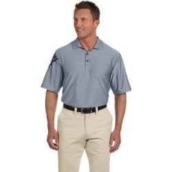 adidas Golf mens ClimaCool Mesh Polo (A133) (Forest/White - 2XL), Men's, Green/White(knit, striped) found on Bargain Bro India from Overstock for $98.49