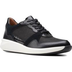 Clarks Un Rio Run Sneaker - Black - Clarks Sneakers found on Bargain Bro from lyst.com for USD $59.28