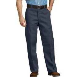 Dickies Men's 85283 Loose Fit Double Knee Cell Phone Pocket Work Pants (Dark Navy - 34X32), Blue(cotton) found on Bargain Bro from Overstock for USD $25.69