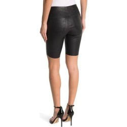 Mona Leather Cycle Shorts - Black - RTA Shorts found on MODAPINS from lyst.com for USD $233.00