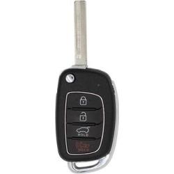 Hyundai Santa Fe OEM 4 Button Key Fob-1 found on Bargain Bro from Refurbished Keyless Entry Remote for USD $38.59