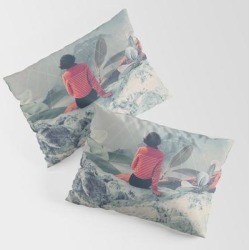 King Size Pillow Sham | Lost In The 17th Dimension by Frank Moth - STANDARD SET OF 2 - Cotton - Society6 found on Bargain Bro from Society6 for USD $30.39