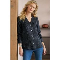 Women's Sistine Shirt by Soft Surroundings, in Black size XS (2-4)