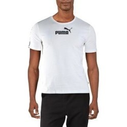 Puma Mens Amplified T-Shirt Fitness Workout (Puma White - XXL), Men's(cotton) found on Bargain Bro from Overstock for USD $11.66