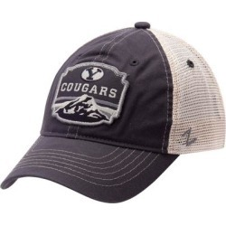 BYU Cougars Zephyr Homestead Trucker Adjustable Hat - Navy found on Bargain Bro from Fanatics for USD $19.75