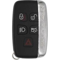 Jaguar XF OEM 5 Button Key Fob w/ side logo found on Bargain Bro from Refurbished Keyless Entry Remote for USD $84.95