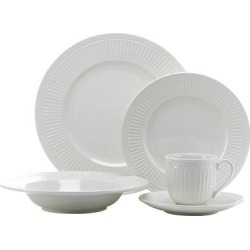 Mikasa Italian Countryside 5 pc. Place Setting, White, 5 PC PL ST found on Bargain Bro Philippines from Kohl's for $49.99