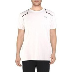 Puma Mens Power BND T-Shirt Workout Running (Puma White - L), Men's(polyester) found on Bargain Bro from Overstock for USD $12.42