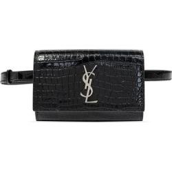 Belt Bag - Black - Saint Laurent Belt Bags found on Bargain Bro from lyst.com for USD $672.60