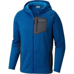 Columbia Men's Jackson Creek Fleece Hooded Jacket (Azule/Orange - S) found on MODAPINS from Overstock for USD $33.24