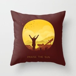 Solaire (dark Souls) Couch Throw Pillow by Michael Cullen-benson - Cover (16