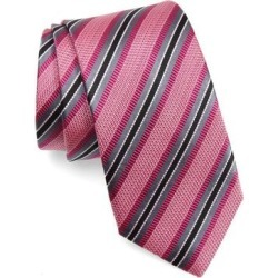 Stripe Silk Tie - Pink - Nordstrom Ties found on Bargain Bro India from lyst.com for $80.00