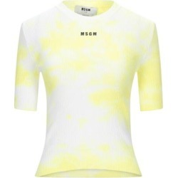 Jumper - Yellow - MSGM Knitwear found on MODAPINS from lyst.com for USD $224.00