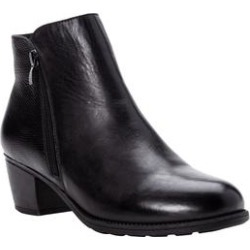 Extra Wide Width Women's Tobey Bootie by Propet in Black (Size 6 1/2 WW) found on Bargain Bro Philippines from Woman Within for $109.99