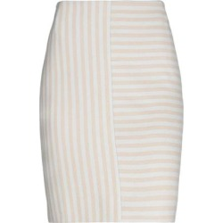 Knee Length Skirt - Gray - Akris Punto Skirts found on MODAPINS from lyst.com for USD $210.00