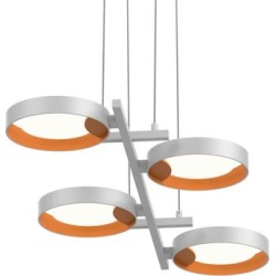 SONNEMAN Robert Sonneman Light Guide Ring 37 Inch LED Large Pendant - 2655.03A