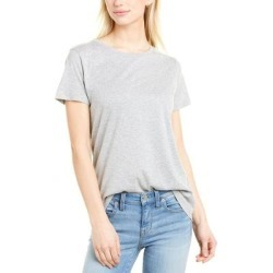 French Connection Classic T-Shirt (8), Women's, Gray(cotton) found on MODAPINS from Overstock for USD $16.79