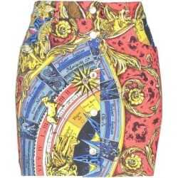 Mini Skirt - Blue - Moschino Skirts found on Bargain Bro Philippines from lyst.com for $87.00