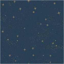RoomMates Upon A Star Peel & Stick Wallpaper, Blue found on Bargain Bro from Kohl's for USD $35.71
