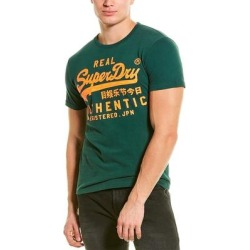 Superdry Vintage Authentic Fluro T-Shirt (M), Men's, Green found on Bargain Bro India from Overstock for $21.99