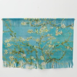 Wall Hanging   Almond Blossoms Painting By Vincent Van Gogh Oil Painting by Vincent Van Gogh - Large 47
