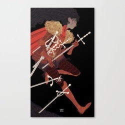 Canvas Print | 7 Of Swords by Sara Kipin - LARGE - Society6 found on Bargain Bro Philippines from Society6 for $122.49