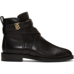 Black Pryle Tb Boots - Black - Burberry Boots found on Bargain Bro India from lyst.com for $760.00