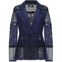 Suit Jacket - Blue - Boutique Moschino Jackets found on MODAPINS from lyst.com for USD $470.00