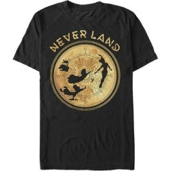 Fifth Sun Men's Tee Shirts BLACK - Peter Pan Black 'Never Land' Tee - Men found on Bargain Bro India from zulily.com for $15.95