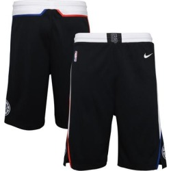 LA Clippers Nike Youth 2020/21 City Edition Swingman Shorts - Black found on Bargain Bro Philippines from Fanatics for $44.99
