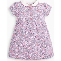 JoJo Maman Bebe Girls' Casual Dresses Pastel - Pink & Blue Pastel Ditsy Peter Pan Collar Button-Front A-Line Dress - Infant, Toddler & Girls found on Bargain Bro Philippines from zulily.com for $27.99