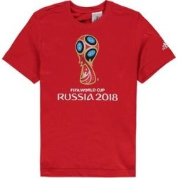 adidas Boys' Tee Shirts Red - 2018 FIFA World Cup Emblem Tee - Boys found on Bargain Bro India from zulily.com for $9.04