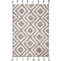 Safavieh Brown/Ivory Kenya Symmetrical Tribal Area Rug Collection found on Bargain Bro Philippines from belk for $261.00