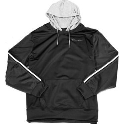 Champion Mens Track Sweater Gray Black Size 2XL Logo Striped Hooded (2XL), Men's(polyester) found on Bargain Bro Philippines from Overstock for $18.98
