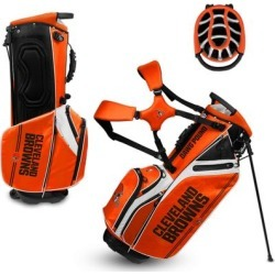 Cleveland Browns WinCraft Caddie Carry Hybrid Golf Bag found on Bargain Bro from nflshop.com for USD $197.59