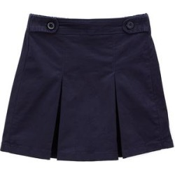 Cutie's Fashions Girls' Casual Skirts NAVY - Navy Blue Godet Skirt - Girls found on Bargain Bro Philippines from zulily.com for $9.49