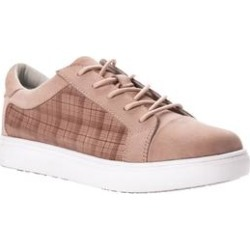 Women's Anya Slip Resistant Sneaker by Propet in Blush (Size 10 M) found on Bargain Bro from Woman Within for USD $56.99