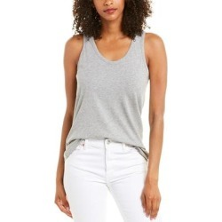 Goldie Racerback Tank (L), Women's, Gray(cotton) found on MODAPINS from Overstock for USD $32.99