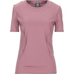 T-shirt - Pink - Adidas By Stella McCartney Tops found on Bargain Bro from lyst.com for USD $40.28