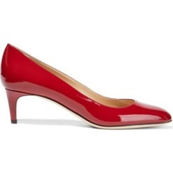 Madame Patent-leather Pumps - Red - Sergio Rossi Heels found on MODAPINS from lyst.com for USD $184.00