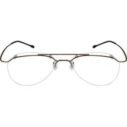 Zenni Lightweight Aviator Rimless Prescription Glasses Brown Stainless Steel Frame found on Bargain Bro from Zenni Optical for USD $19.72