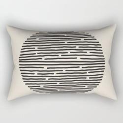 River Stones Rectangular Pillow by Urban Wild Studio Supply - Small (17